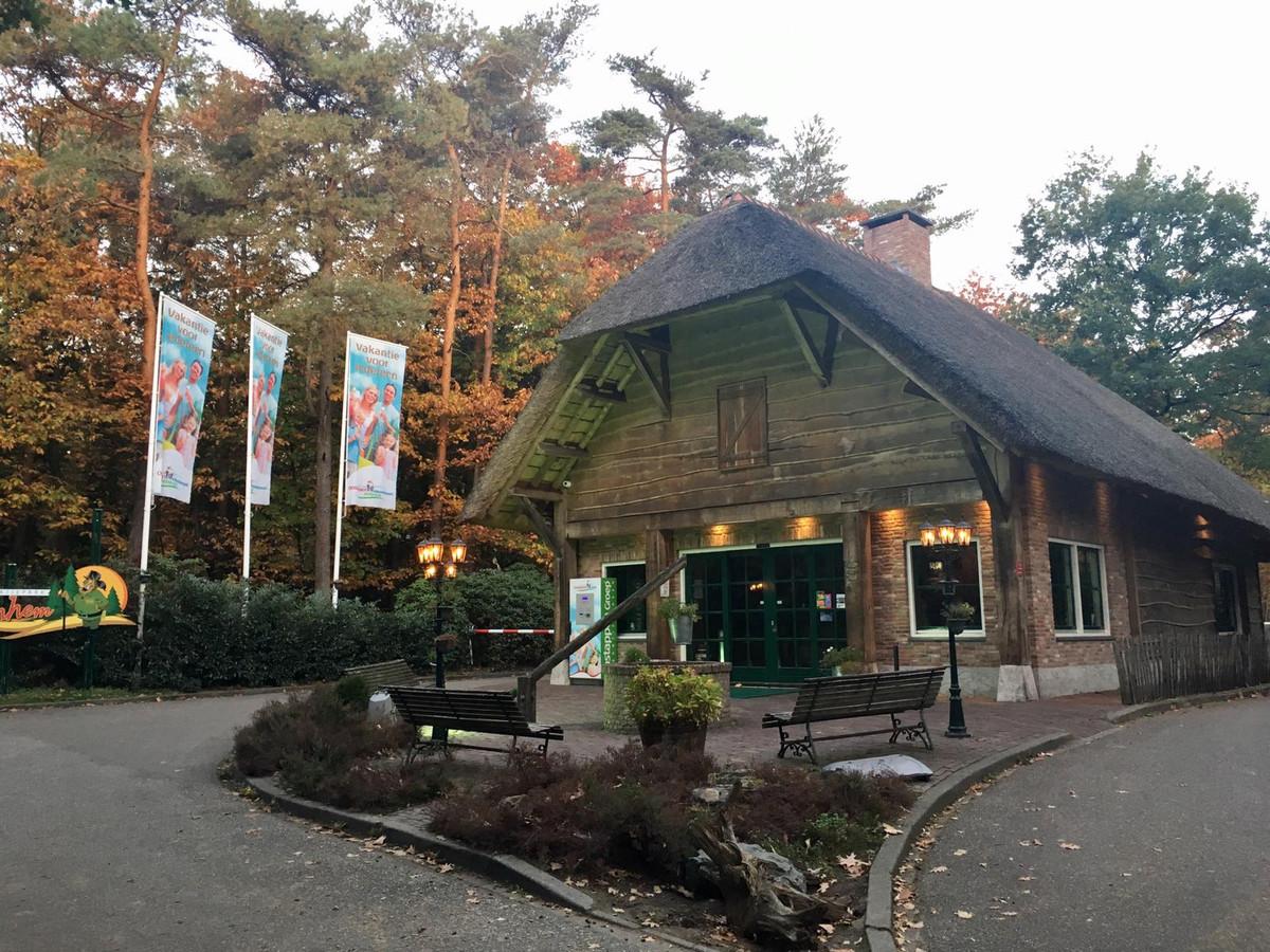 De entree van Oostappen Vakantiepark Arnhem.