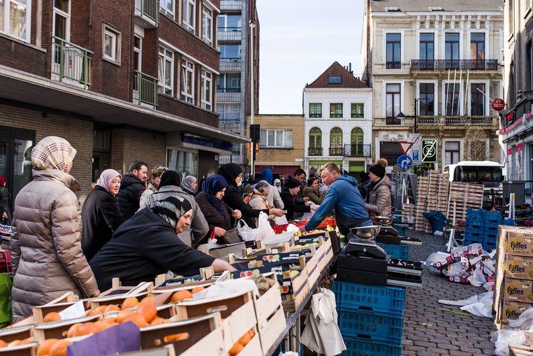 Markt op het Laar:. Beeld Tine Schoemaker