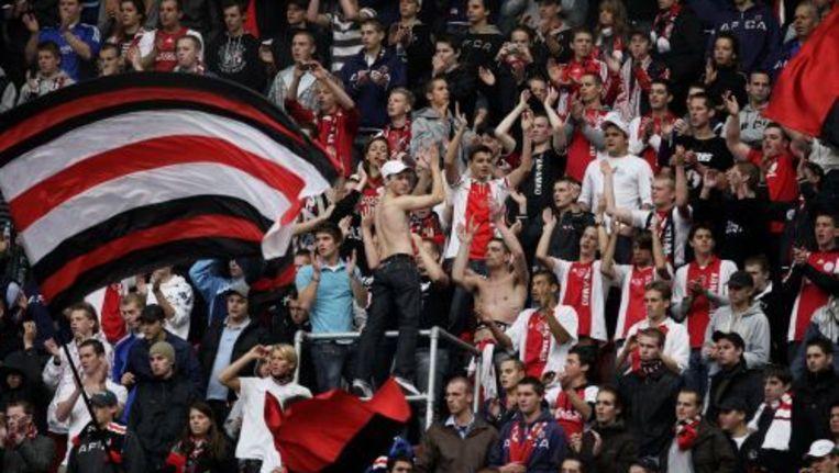 Supporters van Ajax (archief 2008). ANP Beeld