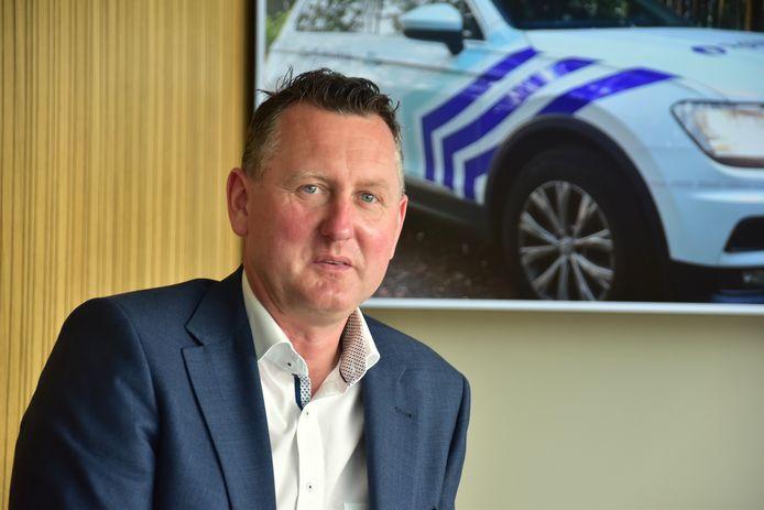 Kurt Windels, burgemeester van Ingelmunster en voorzitter van het politiecollege bij Midow.