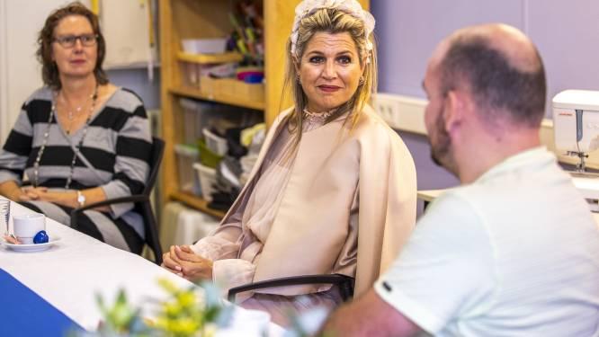 Bezoekers Zelfregiecentrum Deventer verrast met komst Koningin Máxima; blij dat ze hun verhaal mochten doen