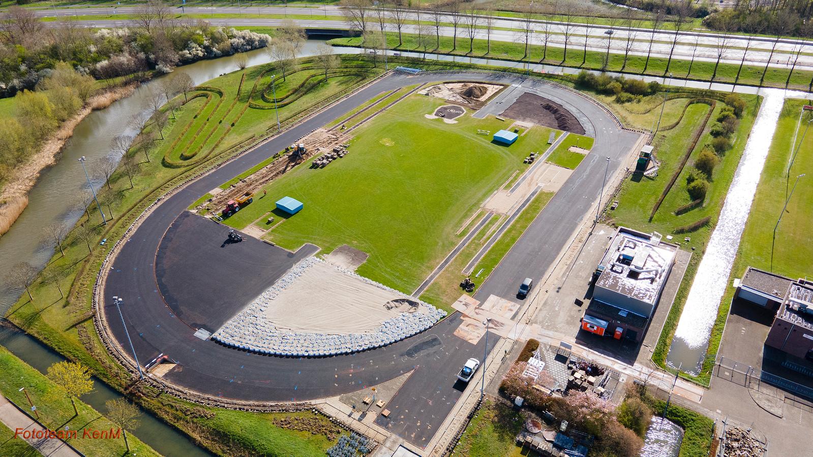 Atletiekbaan Averni in Nieuwegein