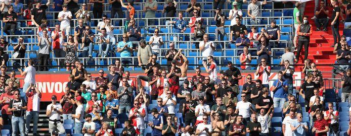 Supporters tijdens Feyenoord - FC Twente.