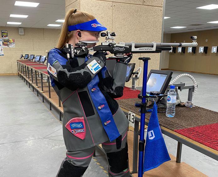 Jessie Kaps plaatste zich voor de Olympische Spelen in Tokio.