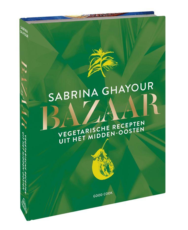 Bazaar. Vegetarische recepten uit het Midden-Oosten, Sabrina Ghayour, 240 p's, uitgeverij Good Cook, 25,95 euro  Beeld rv