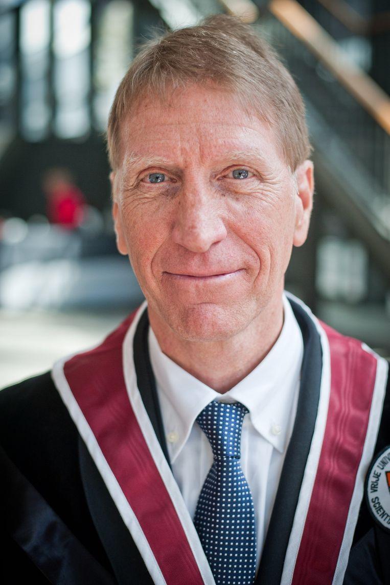 Paul De Knop, rector van de VUB. Beeld BELGA