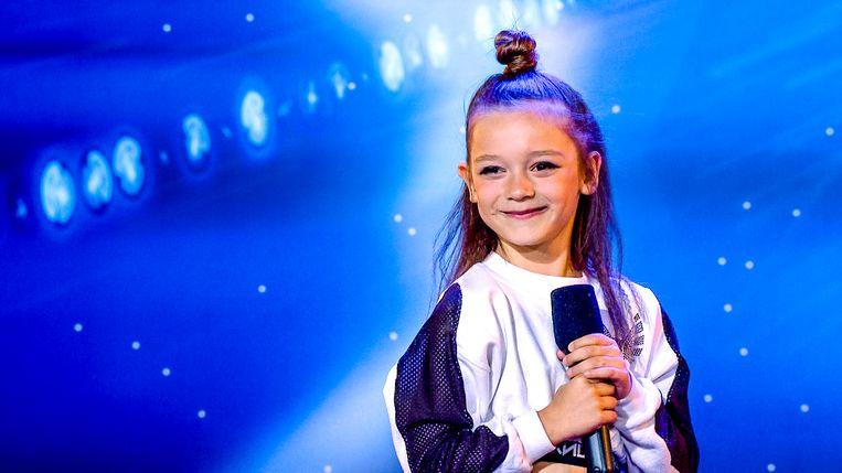 Belgium's Got Talent; seizoen 6, aflevering 1 op vrijdag 13 september 2019 bij VTM. Op de foto: Ella Kasumovic