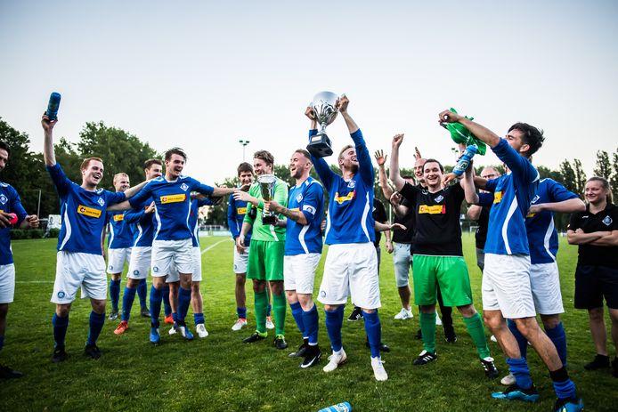 RKHVV is de laatste winnaar van de Arnhem Cup, na een zege op Eldenia in de finale van 2019.