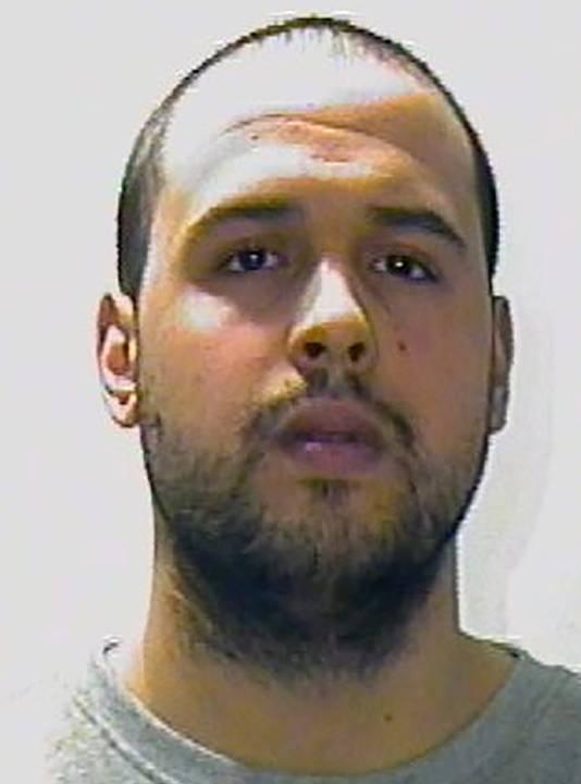Khalid El Bakraoui, de man die zich dinsdag heeft opgeblazen bij metrostation Maalbeek. Hij is de broer van Ibrahim El Bakraoui.