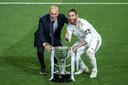 Sergio Ramos a gagné quatre fois la C1 avec le Real.
