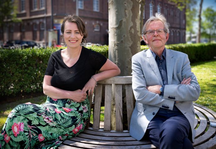 Columnisten Linda Akkermans en Tony van der Meulen.
