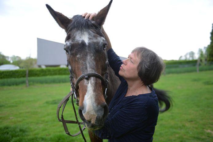 Het paard van Christel Verheyden is 36 jaar geworden en dat is hoogst uitzonderlijk.