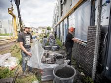 Bouwvak duurde in De Bijvank in Enschede maar een week