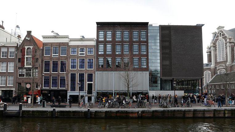 Anne Frank Huis aan de Prinsengracht. Beeld anp