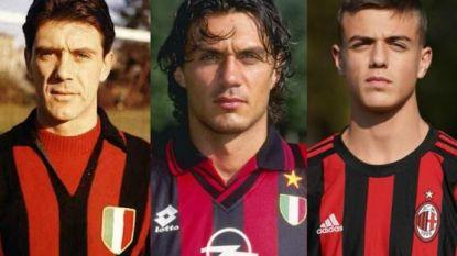 """Daar is de derde Maldini-generatie bij AC Milan: """"Die jongen heeft talent"""""""
