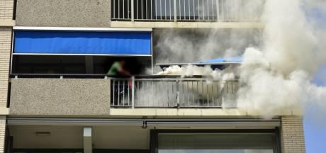 Brand in flatgebouw Breda snel onder controle: 'Sta te trillen op mijn benen'