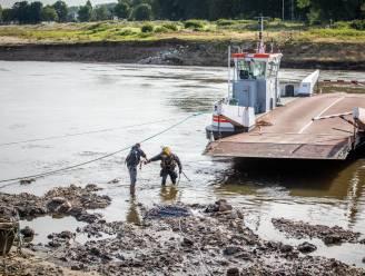"""Ook stalen damplaat van veerpont Meeswijk is beschadigd: """"Tijdelijke constructie is dus geen optie"""""""