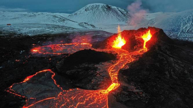 Te koop: uitbarstende vulkaan in IJsland