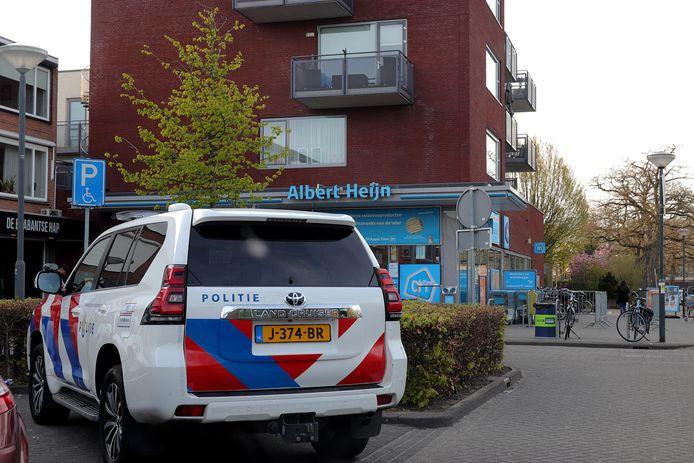 Politie houdt 51-jarige Waalwijker aan na ruzie in supermarkt.