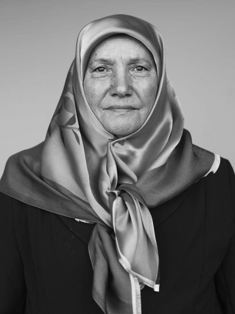 Yilmaz Nafiye (72) - Turks Beeld Stephan Vanfleteren