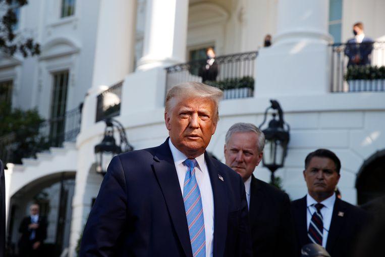 De Amerikaanse president Donald Trump trekt 11.800 Amerikaanse soldaten terug uit Duitsland.
