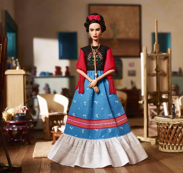 Frida Kahlo in de Barbie Inspiring Women-reeks. Beeld RV