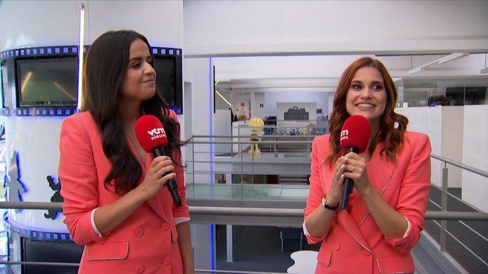 Marthe en Hanne van K3