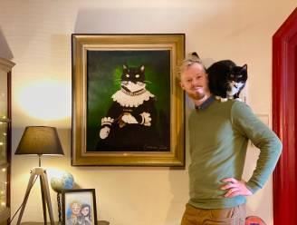 """Pieter maakt middeleeuwse portretten van jouw huisdier: """"Elk stuk is uniek"""""""