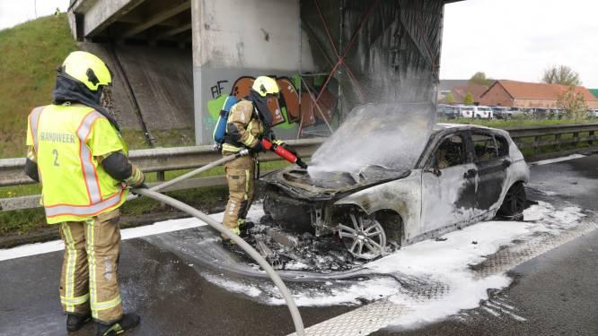 BMW gaat in vlammen op na technisch defect