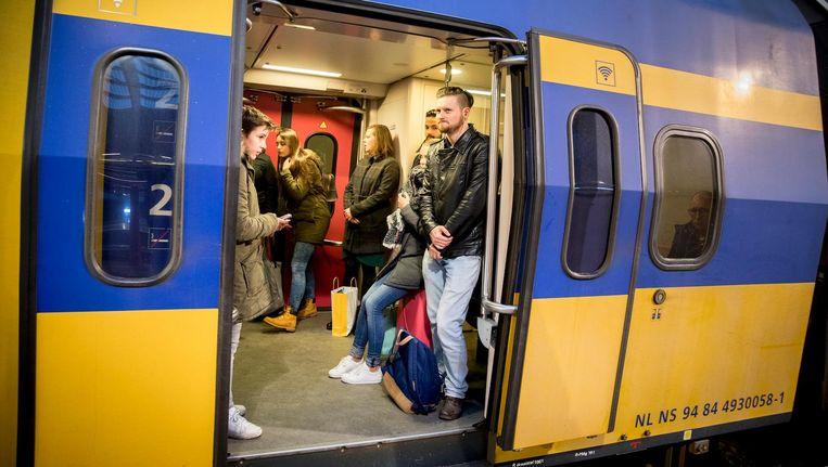 'Maar onder de streep hebben we voor meer reizigers een betere verbinding.' Beeld anp