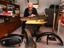 Motorfanaat Jan (78) trekt biezen op oude motoren: 'Mooiste was Scott uit 1919'