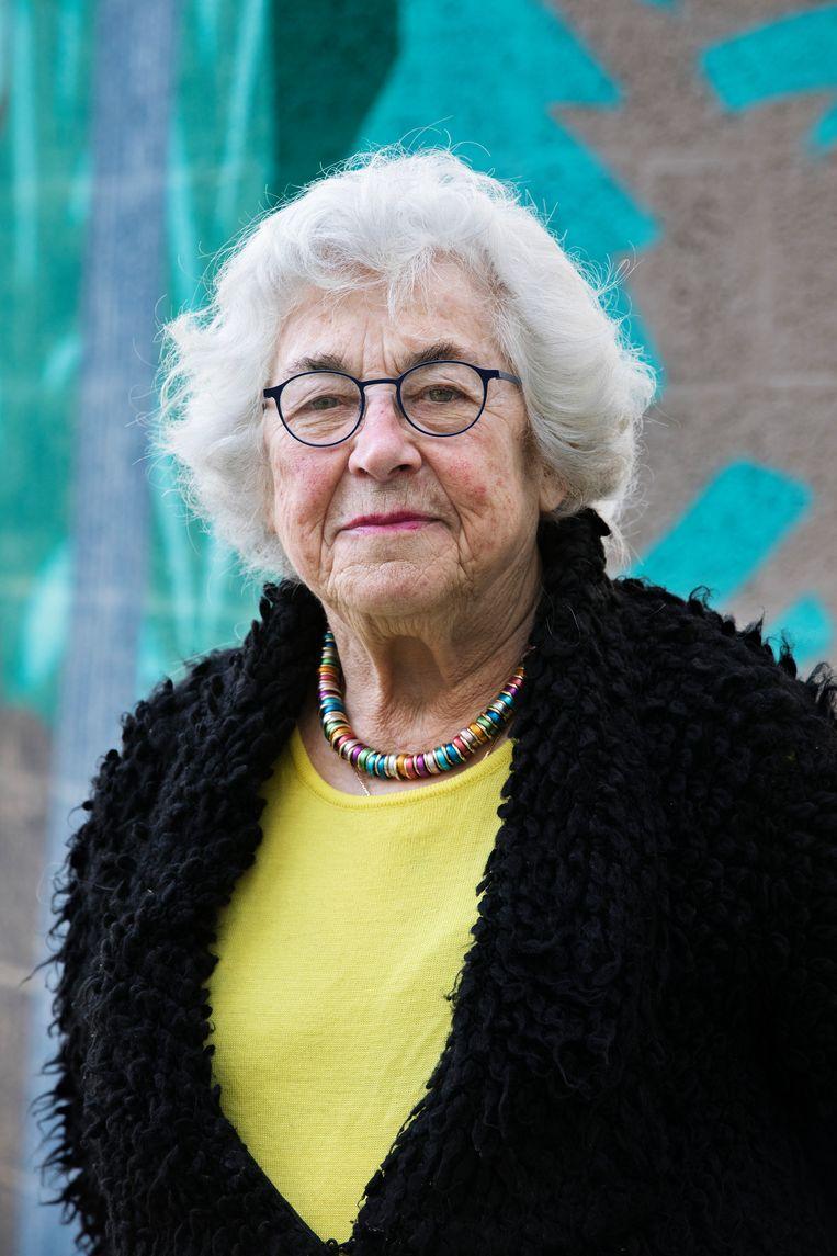 Hanneke Gelderblom: 'Je ziet de moslimhaat en het antisemitisme toenemen. Haat verdrijf je door te praten.' Beeld Inge van Mill