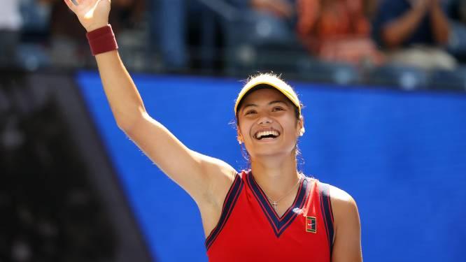 Nouvelle sensation à l'US Open: Emma Raducanu, 18 ans, se hisse en demi-finale
