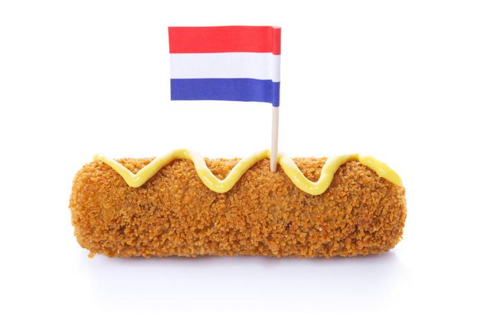 Een kroketje blijft ook in het buitenland typisch Nederlands.