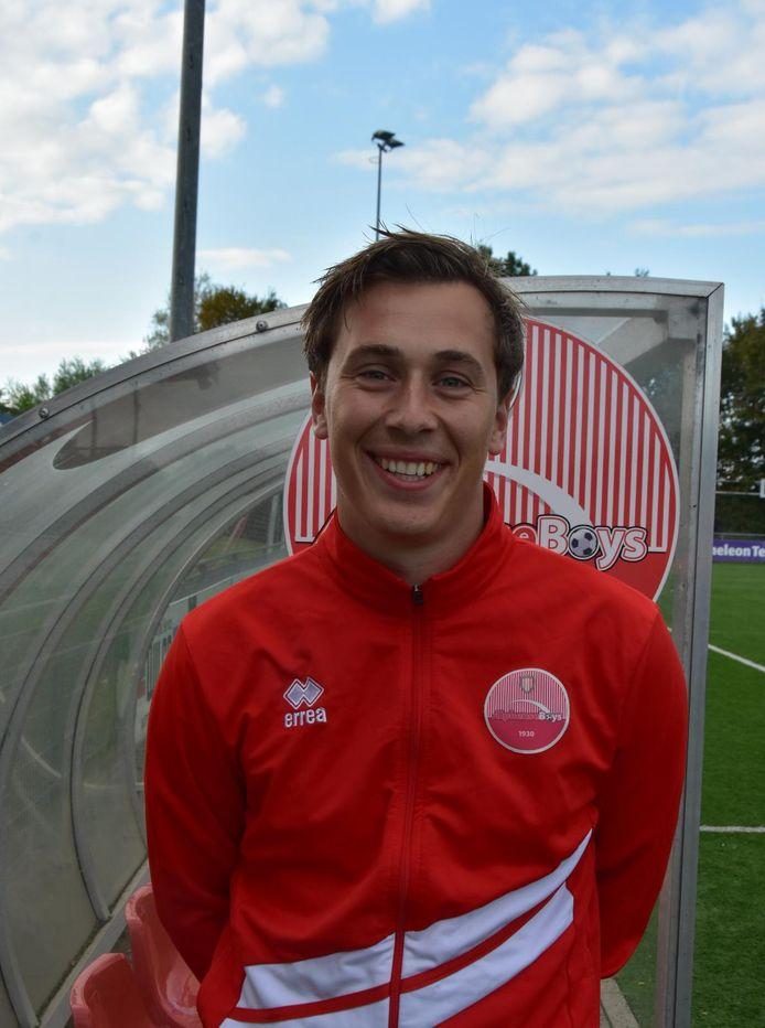 Robin Stolwijk, trainer van talententeam JO13 bij Alphense Boys.