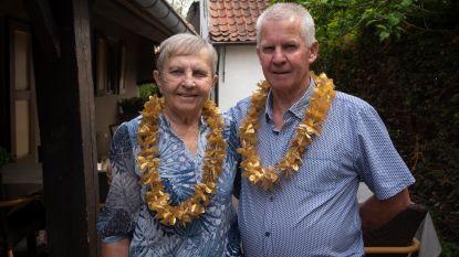 René en Jacqueline 50 jaar gehuwd en als eerste gevierd in coronatijden