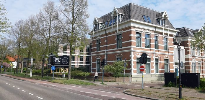 Het pand aan de Kapjeswelle in Deventer.