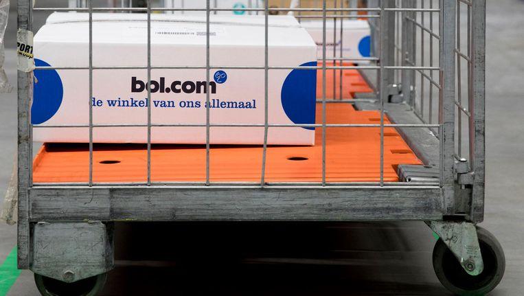 De verwachting is dat webwinkels deze decembermaand voor het eerst meer dan een miljard euro omzetten Beeld anp