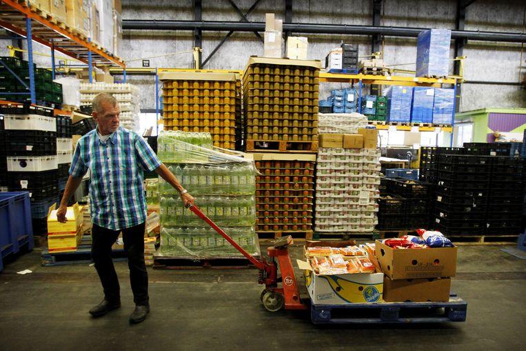 De vereniging van Voedselbanken Nederland is 'helemaal niet verbaasd'. Beeld ANP