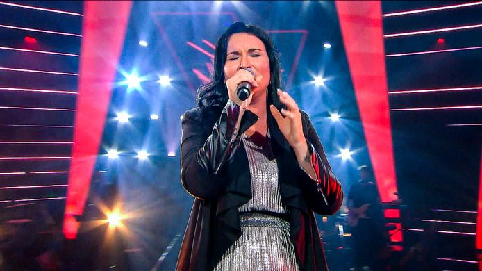 Jennifer Berton gelooft dat haar deelname aan The Voice een springplank kan zijn.