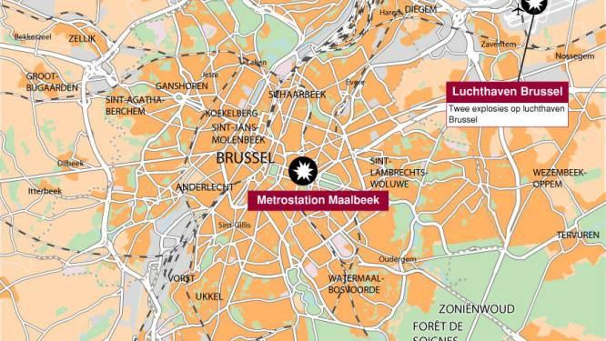 Dit weten we tot nu toe over de aanslagen in Brussel