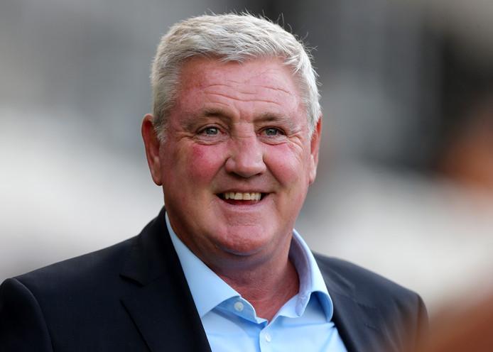 Aston Villa-coach Steve Bruce.