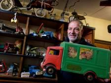 Martin van Eck heeft liefde voor oud en kapot speelgoed