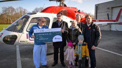 Pensioen levert 1.230 euro op voor mug-helikopter
