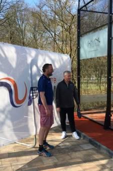 Guus Hiddink opent nieuwe padelbaan van ULTC Iduna