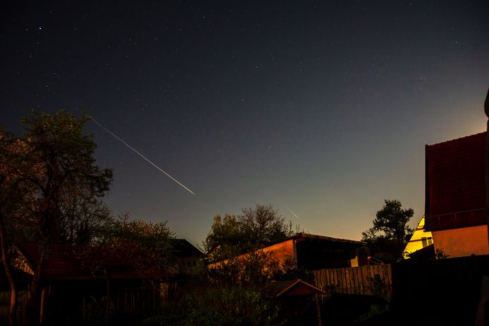 De komende week zijn er in Nederland veel vallende sterren te zien.