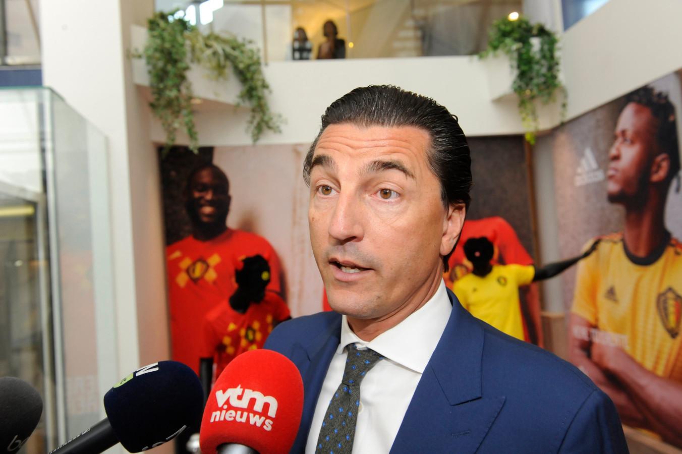 Kris Luyckx, l'un des avocats de l'agent de joueurs Dejan Veljkovic.