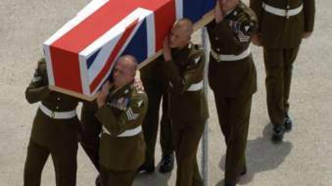 Brits leger telt meer doden in Afghanistan dan in Irak