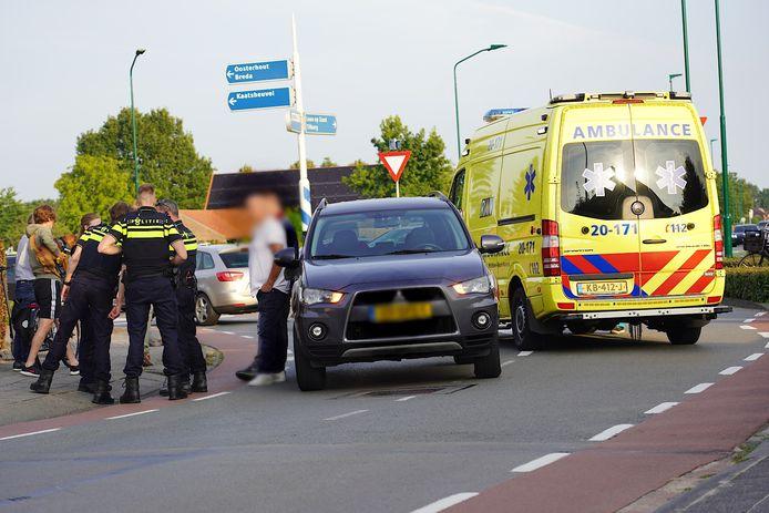 Ongeval met elektrische step in Dongen.