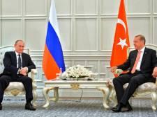 """Erdogan se rapproche de Poutine et critique l'Europe: """"L'UE est la seule coupable"""""""